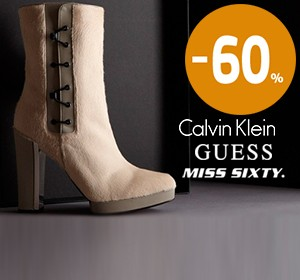 Сalvin Klein, Miss Sixty, Guess