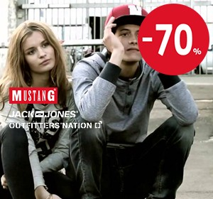 Jack & Jones, Mustang, Outfitters Nation