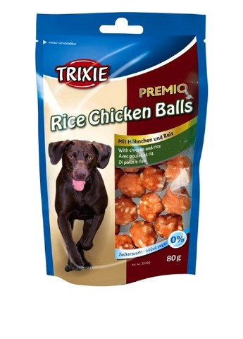 "Лакомство для собак ""PREMIO Rice Chicken Balls"", 80гр Trixie"