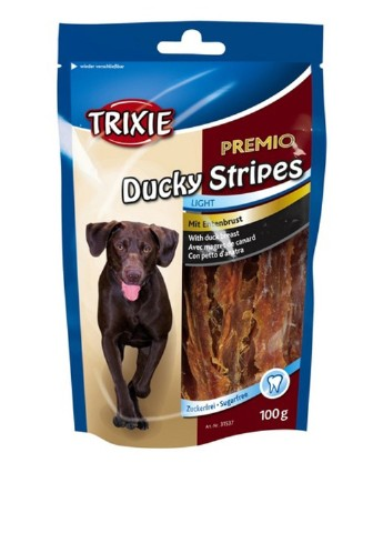 "Лакомство для собак ""PREMIO Ducky Stripes"" утка, 100 г Trixie"