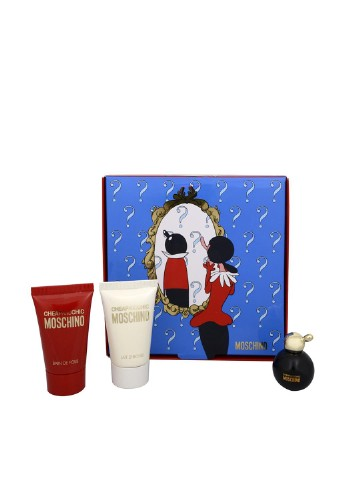 CHEAP & CHIC mini set (edt 5 ml +25 b\l+25 s\g) (L) Moschino