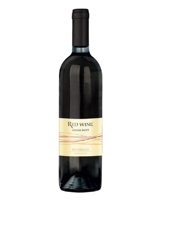 Вино Red wine Medium Sweet 0,75 л Botticello