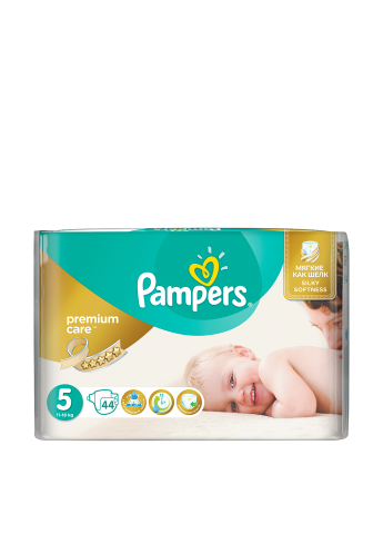 Подгузники Premium Care Junior (11-25 кг), 44 шт. Pampers