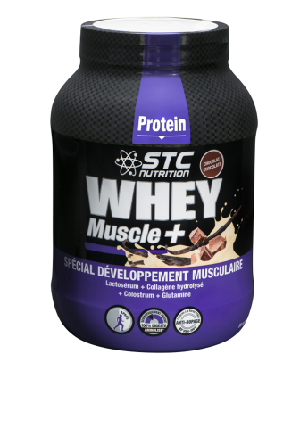 Протеин, STC WHEY MUSCLE+ PROTEIN VANILLE, 750 г STC Nutrition