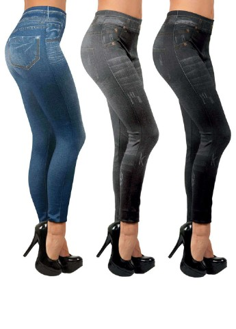 Леггинсы slim jeggins (3 шт.) Tv-Shop