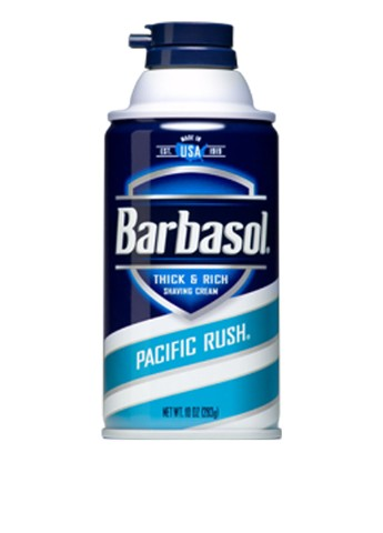 Крем-пена для бритья Pacific Rush Shaving Cream, 283 г Barbasol
