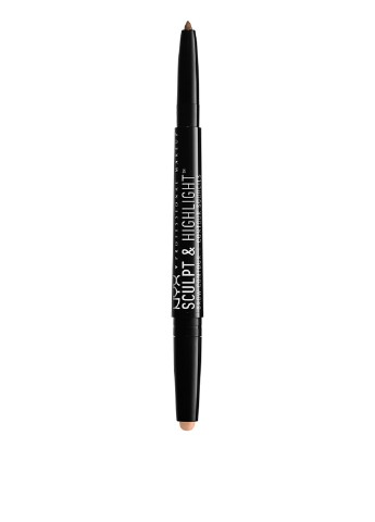 Карандаш для контурирования бровей Brow Contuor Soft brown/Rose, 0,82 г NYX Professional Makeup