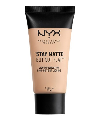 Тональная основа Stay Matte But Not Flat Liquid Foundation 16 Porcelain, 35 мл NYX Professional Makeup