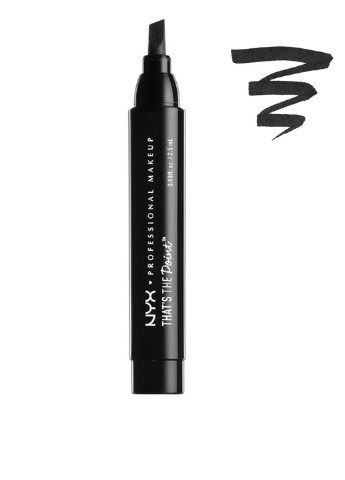 Подводка для глаз That's The Point Eyeliner Super Edgy (черный), 2,5 мл NYX Professional Makeup