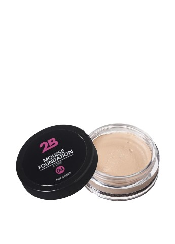 Основа-мусс под макияж Mousse Foundation 04 Ivoire, 13 г 2B