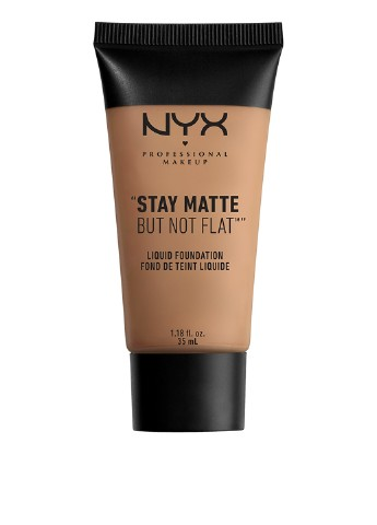 Тональная основа Stay Matte But Not Flat Liquid Foundation 14 Nutmeg, 35 мл NYX Professional Makeup