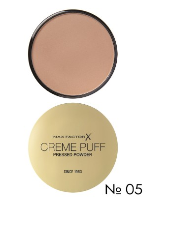 Пудра компактная Creme Puff Pressed Powder №05 (Translucent), 21 г Max Factor