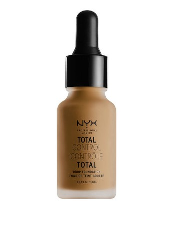 Тональная основа стойкая Total Control Drop Foundation (Cappuccino), 13 мл NYX Professional Makeup