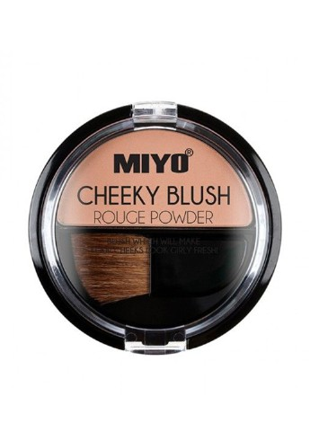 Румяна для лица Cheeky Blush Rouge Powder, №05 Love and Orange, 4,2 г Miyo
