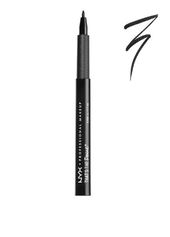 Подводка для глаз That's The Point Eyeliner A Bit Edgy (черный), 1,1 мл NYX Professional Makeup