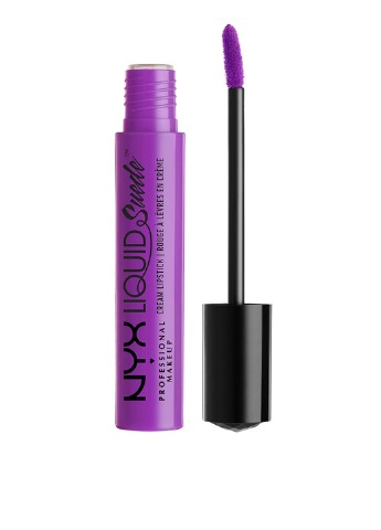 Помада Liquid Suede Cream Lipstick Run The World, 4 мл NYX Professional Makeup