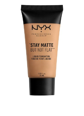 Тональная основа Stay Matte But Not Flat Liquid Foundation №08 (Golden Beige), 35 мл NYX Professional Makeup