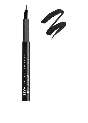 Подводка для глаз That's The Point Quite The Bender (черный), 1,1 мл NYX Professional Makeup