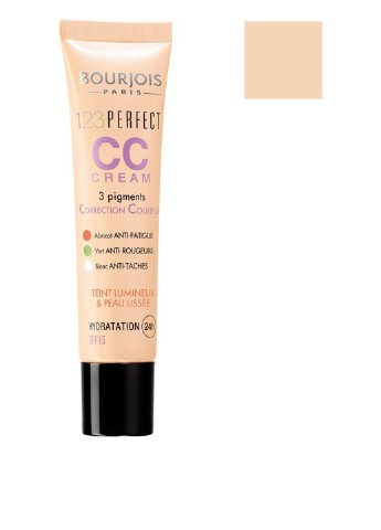 CC-крем 123 Perfect SPF15 № 32 (beige clair), 30 мл Bourjois