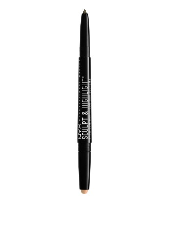 Карандаш для бровей Ash Brown/Medium Beige, 0,82 г NYX Professional Makeup