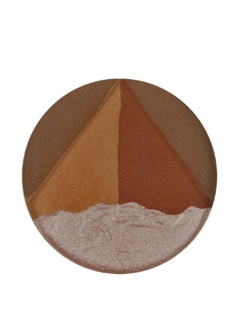 Хайлайтер Godet 3D Egyptian Clay Bronzer, 10 г Ofra