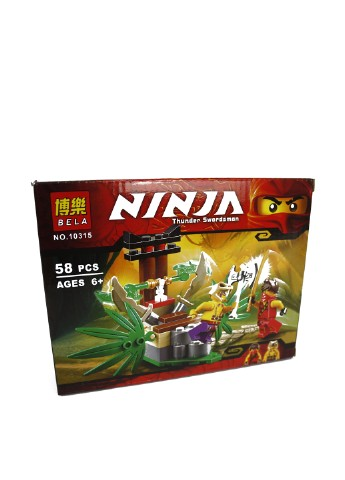 Конструктор Ninjago (58 пр.), 14х19х5 см TV-magazin
