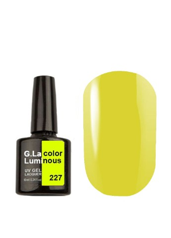 Гель-лак для ногтей G.La Color UV Gel Lacquer Luminous №227 G.La Color