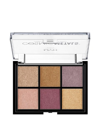 Палитра теней Cosmic Metal, 8,24 г NYX Professional Makeup