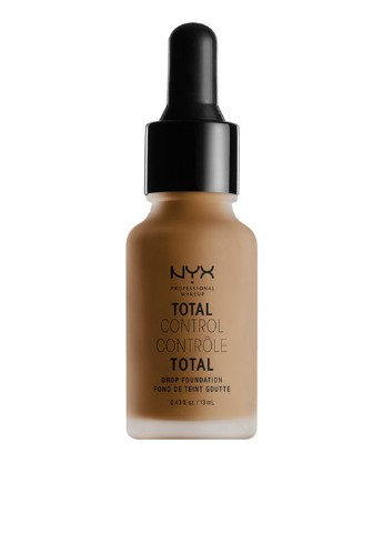 Тональная основа Стойкая Total Control Drop Foundation Deep Sable, 13 мл NYX Professional Makeup