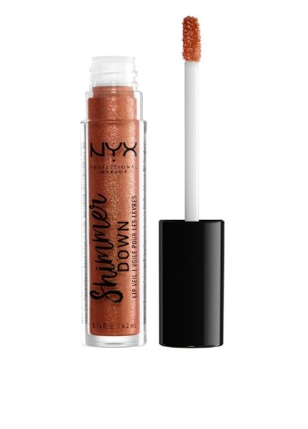 Блеск для губ Shimmer Down Lip Veil (Honey Pie), 4,2 мл NYX Professional Makeup