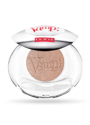 Тени компактные Vamp Compact Eyeshadow 615 Golden Brown, 2,5 г Pupa