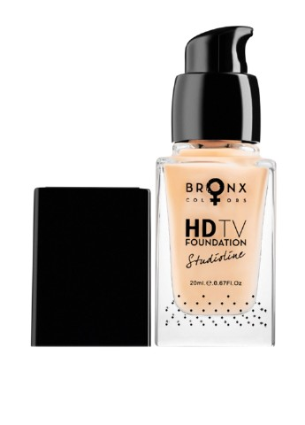 Тональная основа Studioline HD TV Foundation HDTV03 Nude, 20 мл Bronx Colors