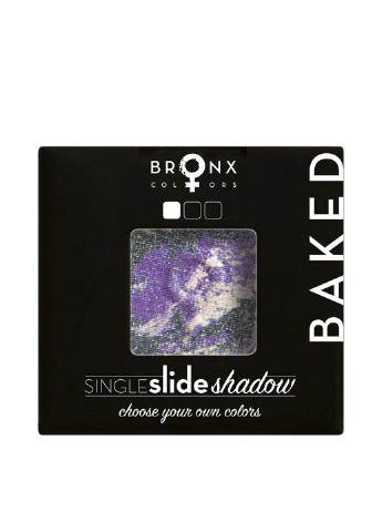 Тени для век Baked Single Slide Shadow SCBS10 Galaxy, 2 г Bronx Colors