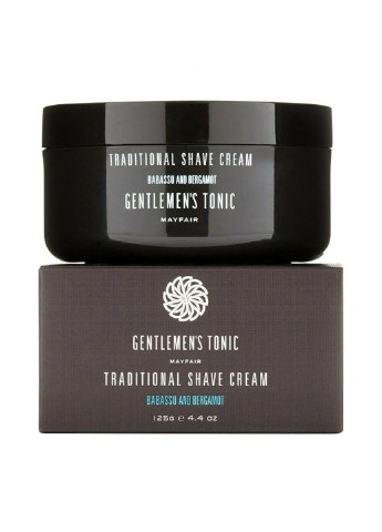 Крем для бритья Gentlemen's Tonic Babassu & Bergamot Traditional Shave Cream 125 г Gentlemen's Tonic