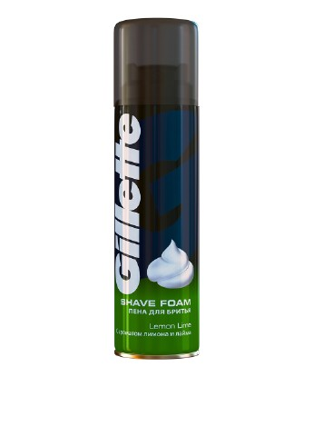 Пена для бритья Lemon Lime, 200 мл Gillette
