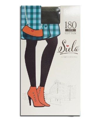 Колготки 180 Den, nero SIELA collant