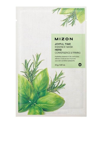 Маска тканевая Joyful Time Essence Mask-Herb, 23 мл Mizon