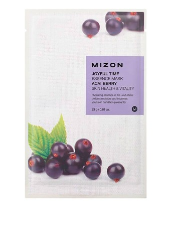 Маска тканевая Joyful Time Essence Mask-Acai Berry, 23 мл Mizon