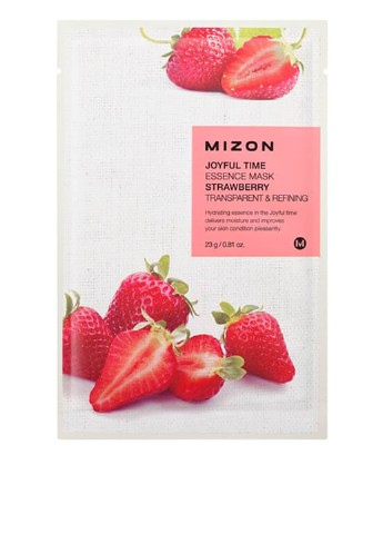 Маска тканевая Joyful Time Essence Mask-Strawberry, 23 мл Mizon
