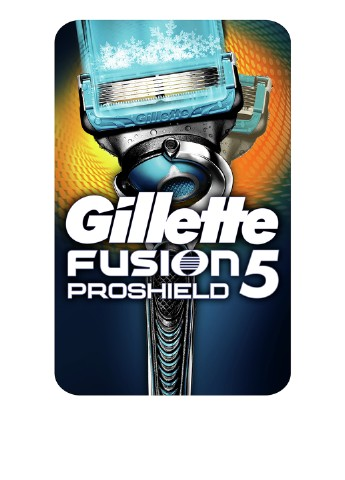 Бритва Fusion5 ProShield Chill С технологией FlexBall Gillette
