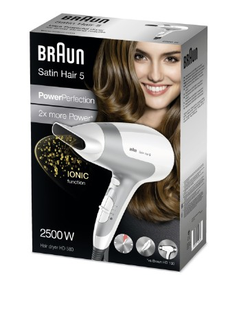 Фен, 2500 Вт Braun Satin Hair 5 HD580