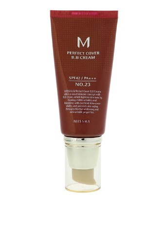 Тональный крем Limited Edition M Perfect Cover BB Cream SPF42  №23 (Natural Beige), 50 мл MISSHA