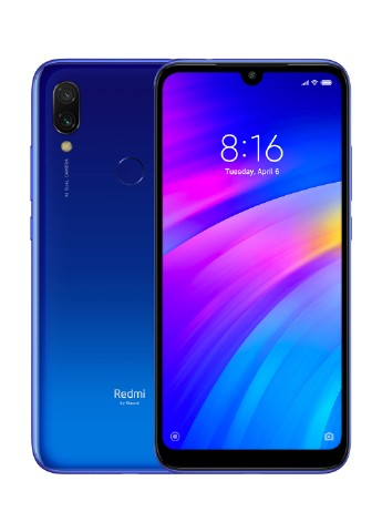Купить смартфон  Xiaomi Redmi 7 3/32GB Comet Blue за 3699 грн в Интернет-магазине Kasta - Киев, Украина (130569678)