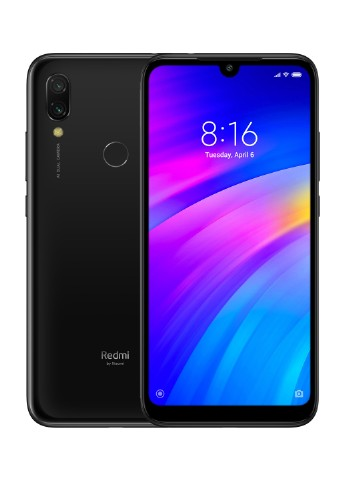 Купить смартфон  Xiaomi Redmi 7 3/32GB Eclipse Black за 3699 грн в Интернет-магазине Kasta - Киев, Украина (130569704)