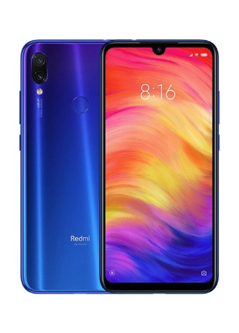 Купить смартфон  Xiaomi Redmi Note 7 3/32GB Neptune Blue за 4499 грн в Интернет-магазине Kasta - Киев, Украина (130569699)