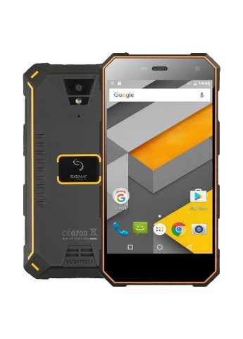 Купить смартфон  Sigma mobile X-treme PQ24 1/8GB Black Оrange (4827798875612) за 3199 грн в Интернет-магазине Kasta - Киев, Украина (130425123)