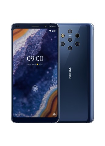 Купить смартфон  Nokia 9 PureView 6/128GB Midnight Blue (11AOPL01A08) за 17489 грн в Интернет-магазине Kasta - Киев, Украина (130358609)