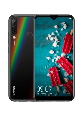 Купить смартфон  Tecno Camon 11S CB7 3/32GB Midnight Black (4895180743054) за 3599 грн в Интернет-магазине Kasta - Киев, Украина (132404115)