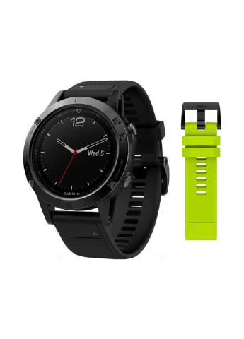 Купить смарт-часы  Garmin Fenix 5 Sapphire Black with Black & Yellow Silicon Bands (010-01688-11/67) за 17777 грн в Интернет-магазине Kasta - Киев, Украина (132572796)