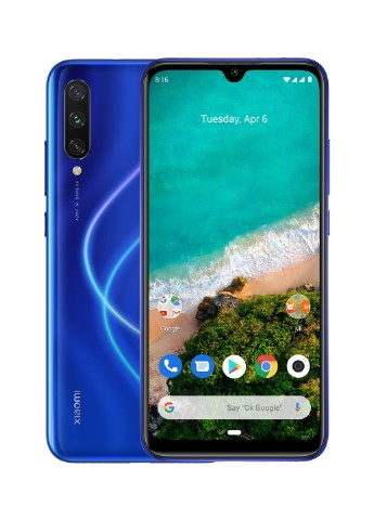 Купить смартфон  Xiaomi Mi A3 4/64GB Not just Blue за 4444 грн в Интернет-магазине Kasta - Киев, Украина (138908238)